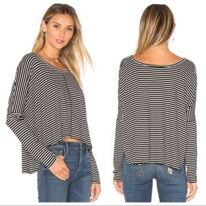 Project Social T Marley Stripe Long Sleeve Top